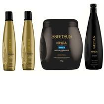 Aneethun Kit 1l Shampoo Kinoa +máscara Kinoa +shampoo Silver