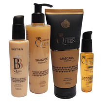 Aneethun Queen Majestic - Kit Shampoo+mascara+óleo+bb