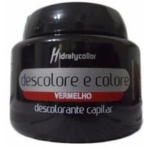 Pó Descolore E Colore Mairibel Vermelho 100 Gr