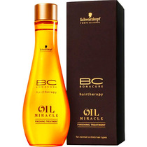 Schwarzkopf Bc Oil Miracle Finishin- Óleo De Argan 100ml Blz