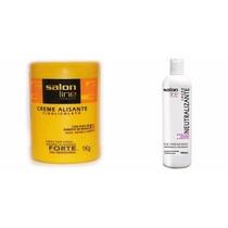 Creme Alis Tioglicolato 1kg Forte+neutraliz 450ml Salon Line