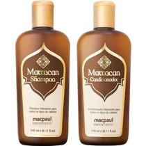 Kit Marrocan Shampoo E Condicionador -?óleo De Argan Macp...