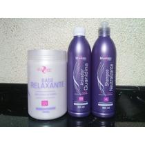 Mairibel Guanidina Base Relaxante + Ativador+ Shampoo Neutra