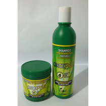Kit Crece Pelo Shampoo + Máscara 100% Original Crecepelo