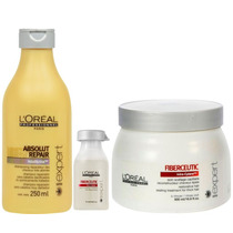 Fiberceutic Loreal Sh 250 Ml +1 Ampola 15 Ml + Mask.500g