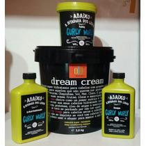 Dream Cream 3k Lola Kit Curly 3 Itens Tratamento P/cabelos
