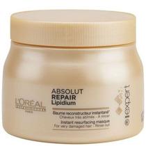 Loréal Absolut Repair Lipidium Máscara Profissional 500g