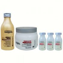 Kit Loreal Profissional Fiberceutic Intra-cylane Grossos