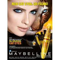 Máscara Rímel Maybelline Volume Cat Eyes