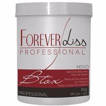 Forever Liss Btx Capilar Argan - Cabelos Lisos E Hidratados
