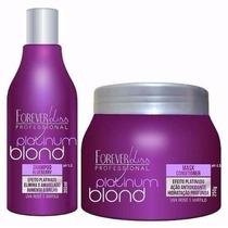 Desamarelado Forever Liss Platinum Blond Cabelo Loiro