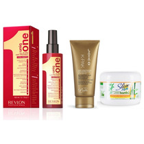 Joico 150ml + Uniq One 150ml + Silicon Mix 225g