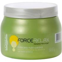 Loréal Force Relax Máscara Profissional Para Cabelo 500g Nfe