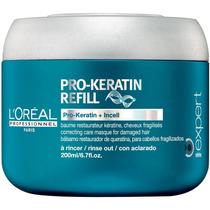 Loréal Pro-keratin Refill Máscara De Queratina 200ml Lor