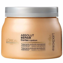 Máscara Loréal Absolut Repair Cortex Lipidium 500g Original
