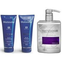 **dicolore Matizador Blonde Shampoo + Cond. + Acidificante**