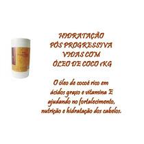 Hidratação Pós Progressiva Vidas Com Oleo De Coco 1 Kg