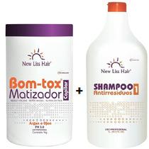 Botox Matizador New Liss 1kg + Shampoo De Limpeza Profunda