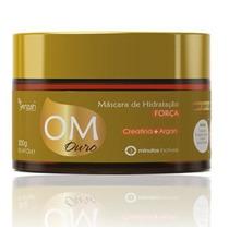 Máscara Hidratação Força Ouro Oléo Marrocos - Yenzah