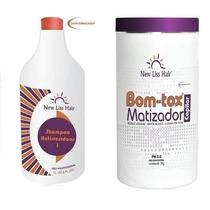 Argan Bott-ox Matizador + Shampoo Anti-resíduo Frete Gratis