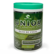 Creme De Tratamento Uniox Soft Hair Óleo De Coco 1kg
