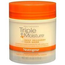 Neutrogena Triple Moisture Mascara Restauradora Do Cabelo