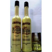 Kit Cliente Argan 3 Unid Shampoo+mascara+óleo Argan Coiffer