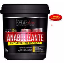 Anabolizante Capilar Forever Liss 1kg + Brinde