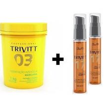 Trivitt Máscara Hidratação Intensiva Nº 3 + 2 Óleo Power