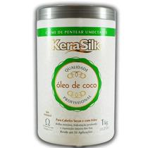 Kerasilk - Creme De Pentear Umectante Óleo De Coco - 1kg