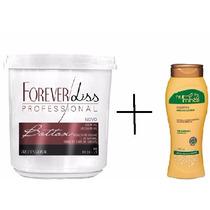 Forever Lis B. Capilar Argan+shampoo Sem Sal Cabelos Oleosos