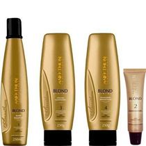 Kit Aneethun Blond System 4itens Amk Cosméticos