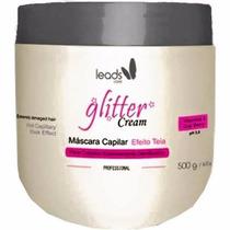 Leads Care Máscara Capilar Efeito Teia Glitter Cream 500g