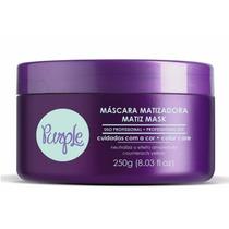 Máscara Matizadora Matiz Mask Fine Professional Purple 250g