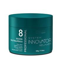 Innovator Escova Nutri Lipídica 500 Gr Nº 8 Lançamento