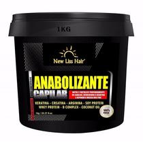 Anabolizante Capilar 100% Liso Botox Frete Gratis 1kg