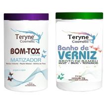 Bom-ttox Marizador +banho De Verniz Broto De Bambu1kg Teryne