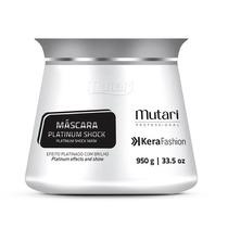 Máscara Platinum Shock Kerafashion Professional 950g Mutari