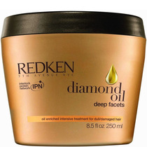 Redken Diamond Oil Deep Facets Mask - Máscara 250ml