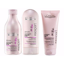 Loreal Vitamino Color Aox Shampoo+condi+leave-in 3produtos