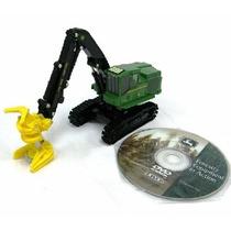 Miniatura John Deere Florestal 959k 1/50 Ertl C/dvd Harveste