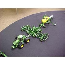 Miniatura Trator John Deere 9530 + Plantadeira À Ar - 1/64
