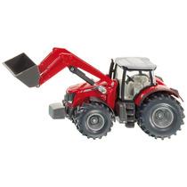 Toy Tractor Agrícola - Siku Massey Ferguson W Frontal