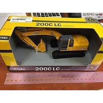 Miniatura Escavadeira John Deere 200c Lc Escala 1/50