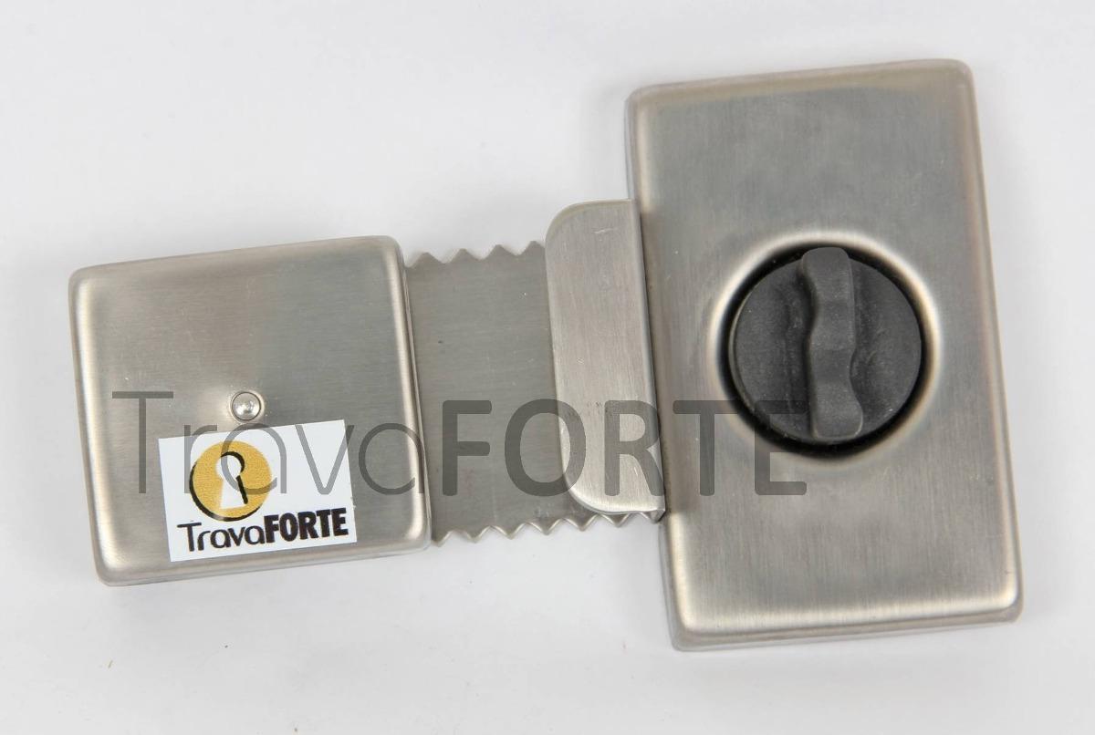 #A67F25 Trava De Segurança P/ Janela De Vidro De Correr R$ 119 90 no  1518 Trava Para Janela De Aluminio De Correr