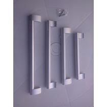Puxadores Em Aluminio Escovado Designer Moderno 128mm