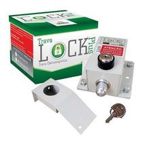 Trava Eletromagnética Lock Plus Ipec Com Temporizador