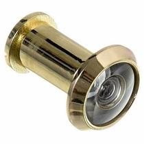 Olho Mágico Visor De Porta 200 Graus, Diâmetro 16mm Dourado