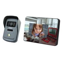 Vídeo Porteiro Interfone Eletrônico Camera Color Lcd 4,3 Ecp