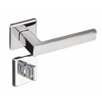 Fechadura Pado 55mm Barra Inox Polido Porta Banheiro